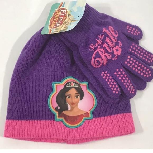 finest selection 7a213 8dc60 Disney Princess Elena of Avalor Hat Gloves Set